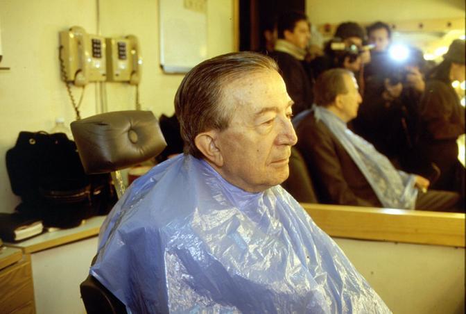Dal barbiere (Fotogramma)