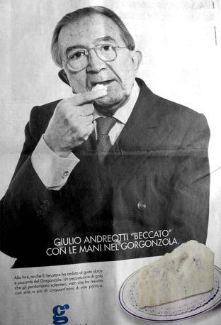 Nella pubblicità del gorgonzola (Olycom)