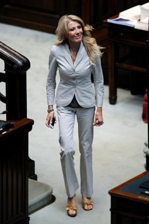 La deputata Pdl Gabriella Carlucci (Olycom)
