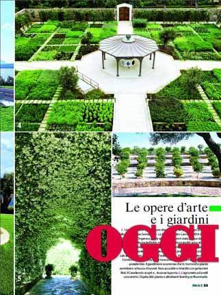 Sul settimanale Oggi le foto mai viste degli interni di Villa Certosa, una delle residenza di Berlusconi.