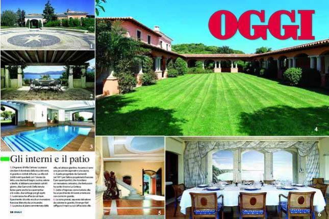 Interni Di Villa Certosa : Le foto mai viste degli interni di villa certosa