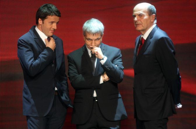 Renzi, Vendola, Bersani