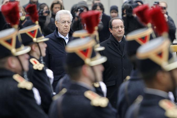 Nel bilaterale l'accordo congiunto sull'alta velocità Torino-Lione (Reuters)