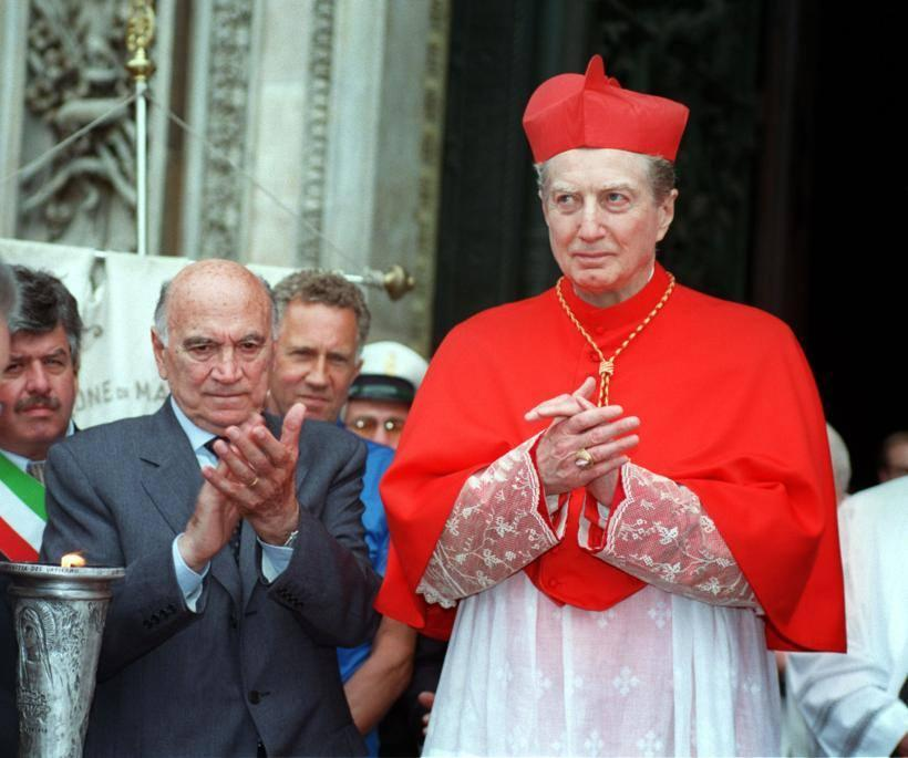 Il cardinal Martini (Ap)