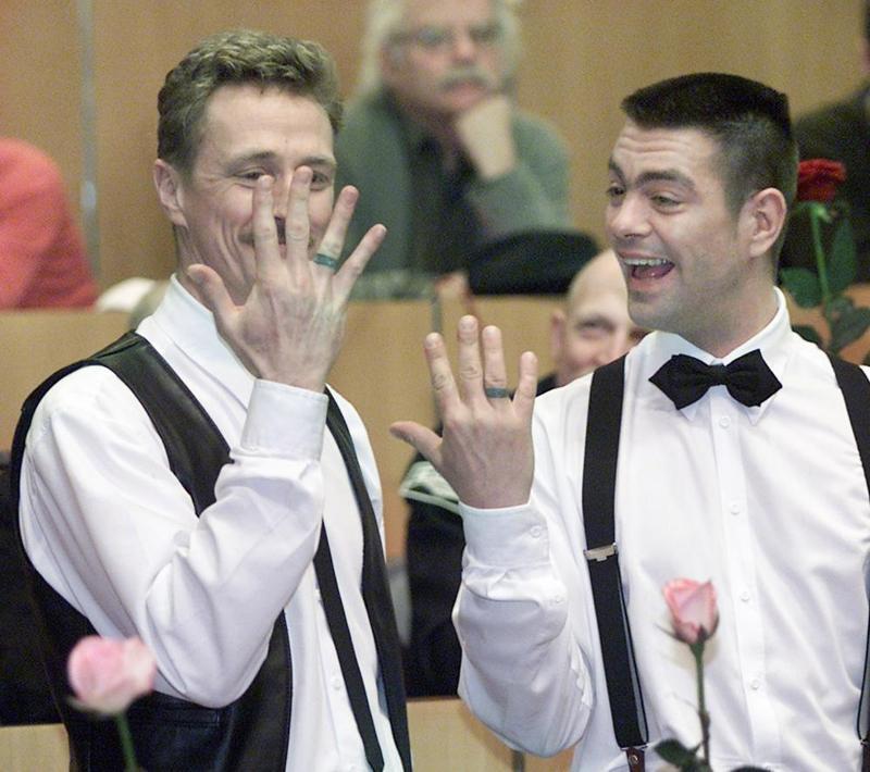 Certificato Matrimonio Simbolico : Matrimoni gay