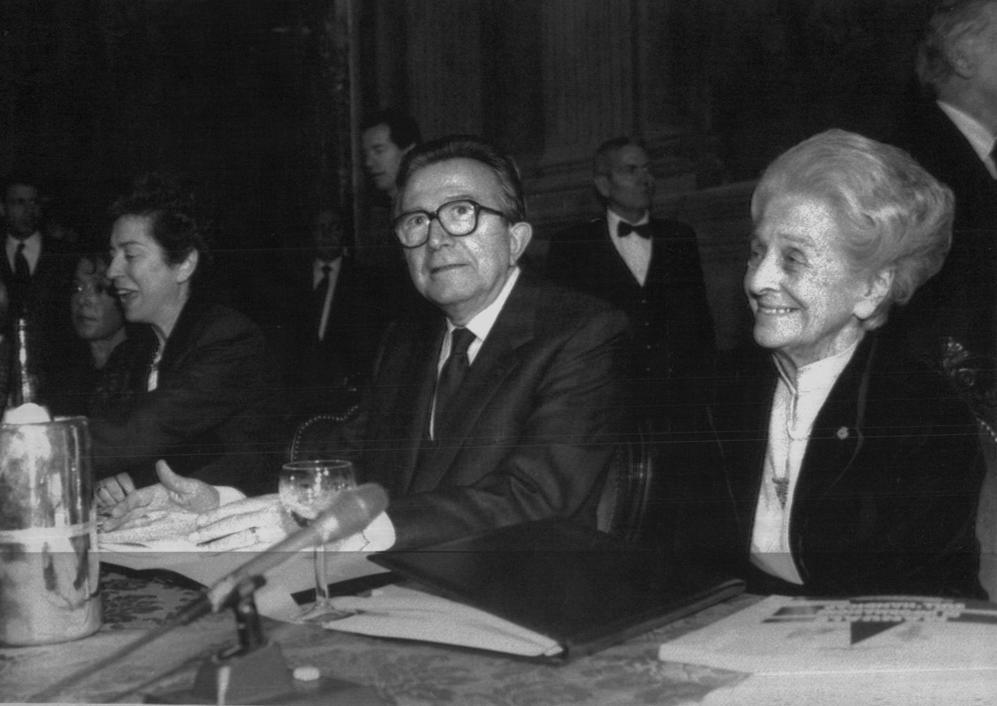 Con Giulio Andretotti il 23 marzo 1992 a Roma