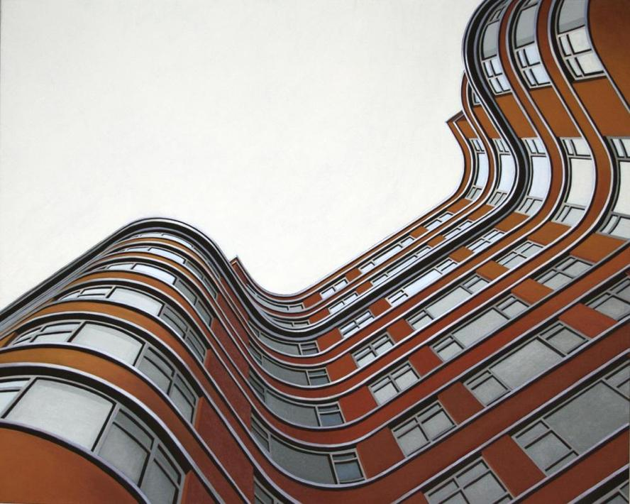 �Florin Court (London)�, cm. 80x100, 2010