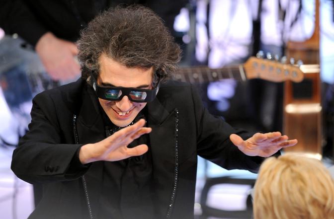 Marco Sabio direttore d'orchestra del teatro Ariston  (Claudio Onorati/Ansa)