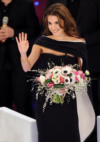 La regina Rania di Giordania (Ansa)