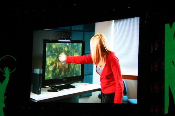 Natal, il nuovo sistema di controllo per Xbox. Il premio in questo caso è «virtuale» visto che non è ancora avvenuta la presentazione ufficiale