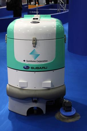 Il robot dell'anno 2006, un pulitore di pavimenti sempre della Subaru