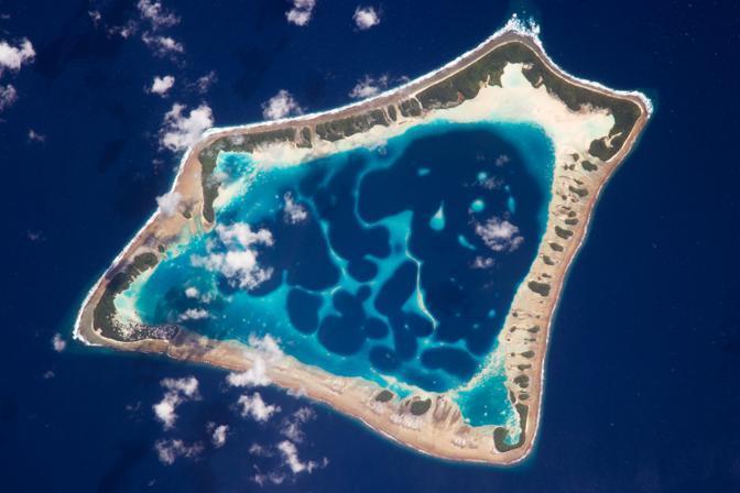 Terza piazza per l'atollo Atafu, nell'arcipelago delle Tokelau, nell'