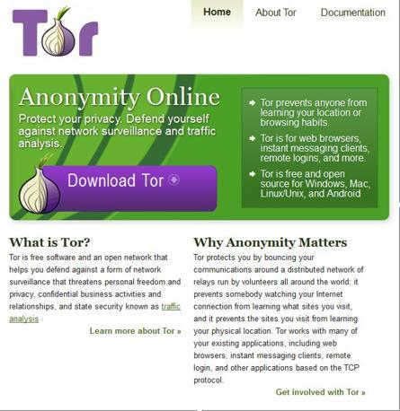 Cchermata del programma anonimizzatore