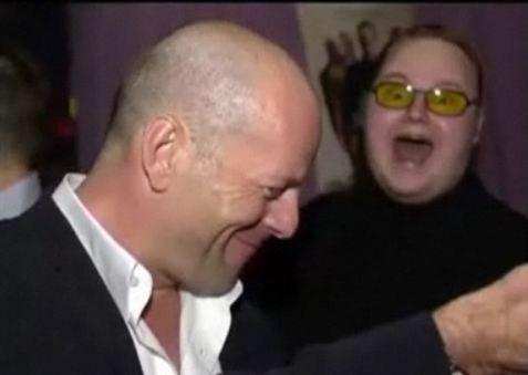 Con Bruce Willis