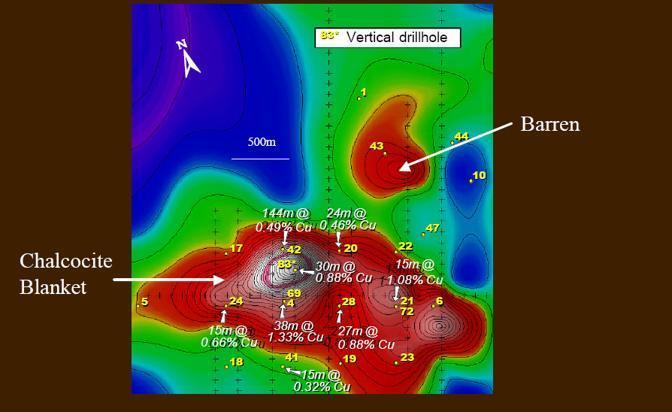 Le perforazioni di prospezione (da Tethyan.com)