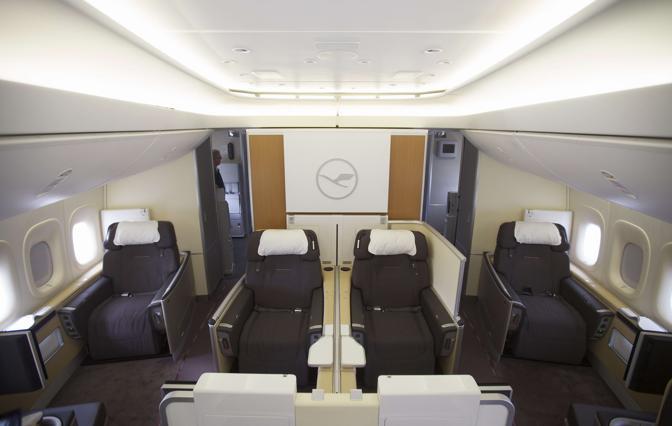 ecco il super boeing l 39 aereo pi lungo del mondo ForBa Cabina Di Prima Classe