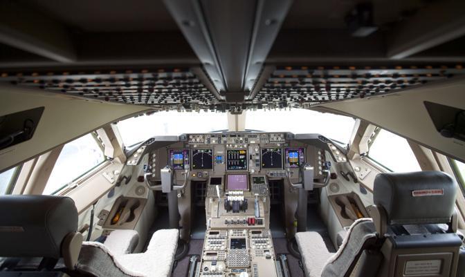 ecco il super boeing l 39 aereo pi lungo del mondo