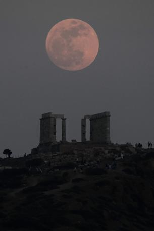 Capo Sounio, Grecia. (Afp)