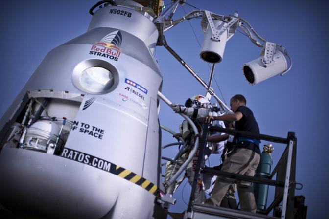 Il secondo test si è svolto sui cieli di Roswell, in New Mexico (Epa)