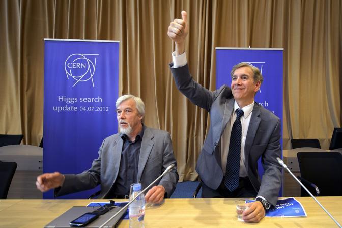 L'entusiasmo del  portavoce del Csm, Joe Incandela (Afp/Coffrini)