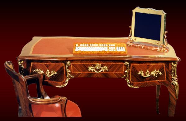 Un modello neoclassico di pc della ditta francese Chirita (da Chirita.com)