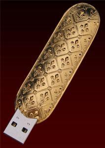 Chiavetta Usb Luigi XV (da Chirita.com)