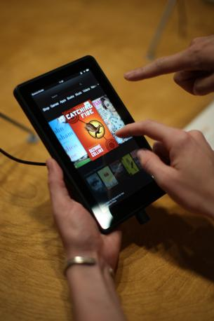 Il Kindle Fire HD (David McNew/Getty Images/AFP)