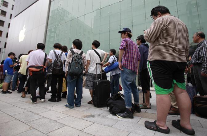 L'Apple Store di Tokyo (Reuters)