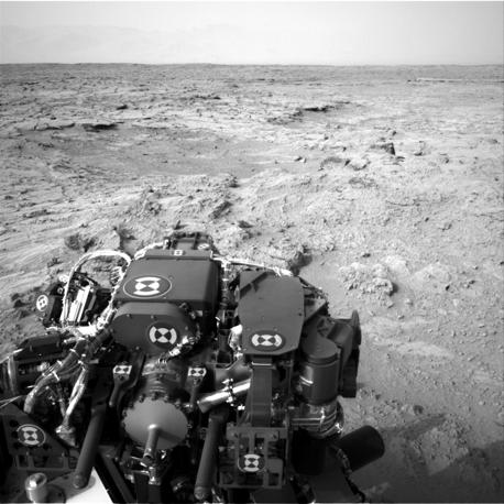 Le foto di Curiosity scattate su Marte (Nasa/Reuters)