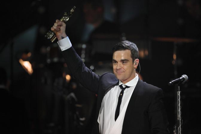 A Robbie Williams premio speciale alla carriera (Ap)