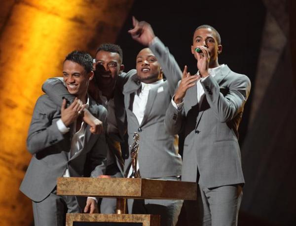 La boy band britannica Jls si è aggiudicato il premio rivelazione nazionale (Ap)