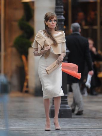 Prima di Venezia, il film The Tourist ha girato alla fine di febbraio alcune scene a Parigi con Angelina Jolie (Olycom)