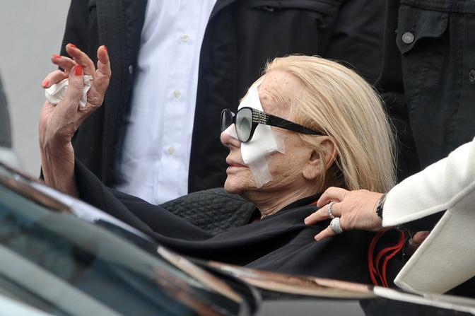 Ancora un'immagine di Sandra (La Presse)
