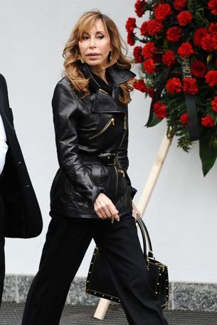 Daniela Zuccoli, vedova di Mike Bongiorno (Daniele Buffa/Image)