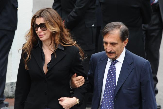 Ignazio La Russa con Alba Parietti (Fotografo Image)