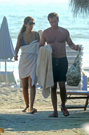 Lavinia Biagiotti con il fidanzato Francesco Pignatiello (Olycom)