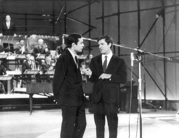 Lelio Luttazzi con Fred Bongusto (Archivio Corsera)