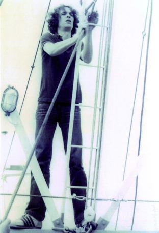 Un'immagine dal disco
