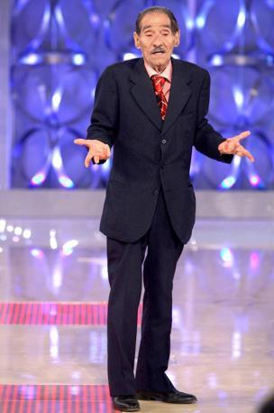 L'attore è comparso allo spettacolo I migliori anni (Olycom)
