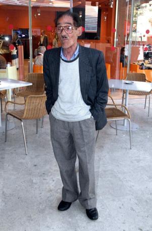Per il 90mo compleanno di Mario Monicelli (Olycom)