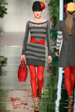Le calze rosse di Givenchy