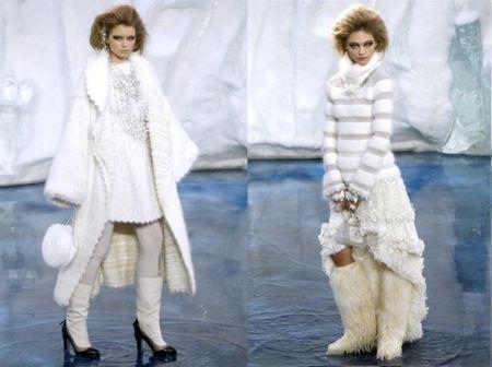I collant bianchi di Chanel