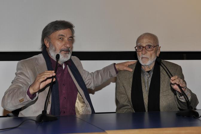 Con Gianni Amelio