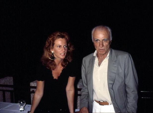Monicelli con Giuliana De Sio (Liverani)