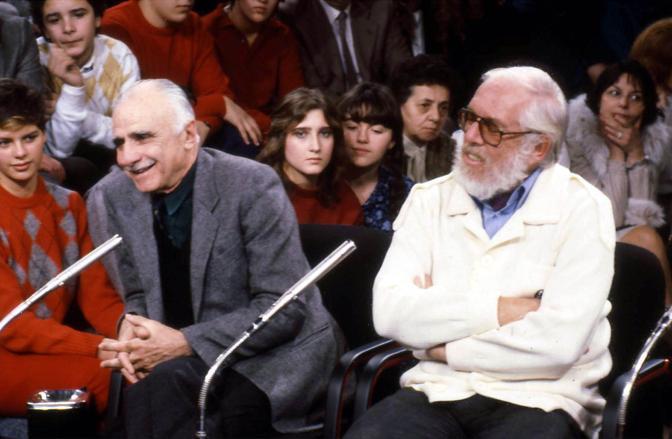 Mario Monicelli  con Luciano Salce (Liverani)