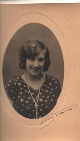 Laura D'Oriano giovane