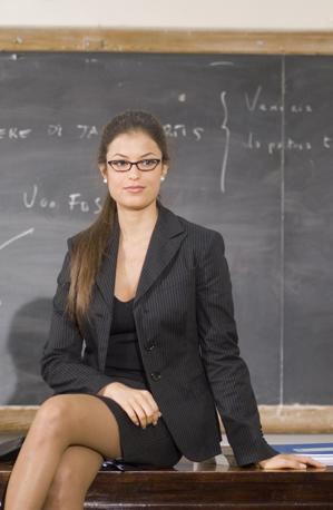 La Tommasi nel film «Ultimi della classe» (IPP)