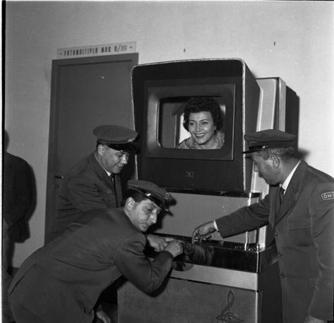 Una foto buffa del 1958 (Ansa)