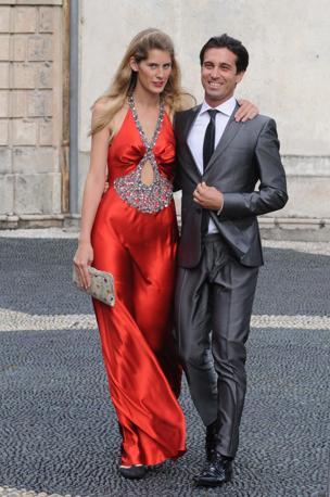 Carlo Mazzoni e Poppi Cottorelli (Splash News/Gigi Iorio)