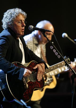 Roger Daltrey, 67 e Pete Townshend, 66 (Epa)